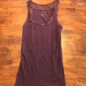Fun plum colored tank top